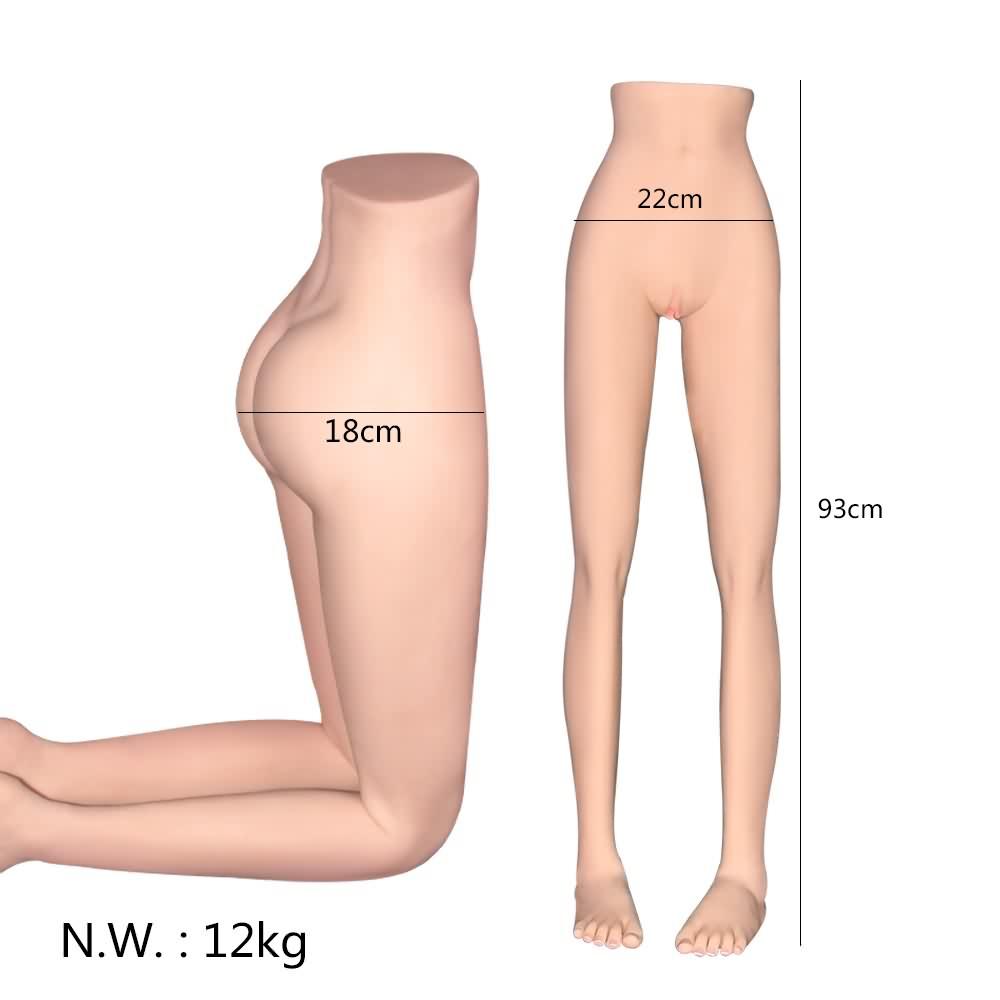 Dodie – Lower Half Body Torso Sex Doll Legs-MiisooDoll
