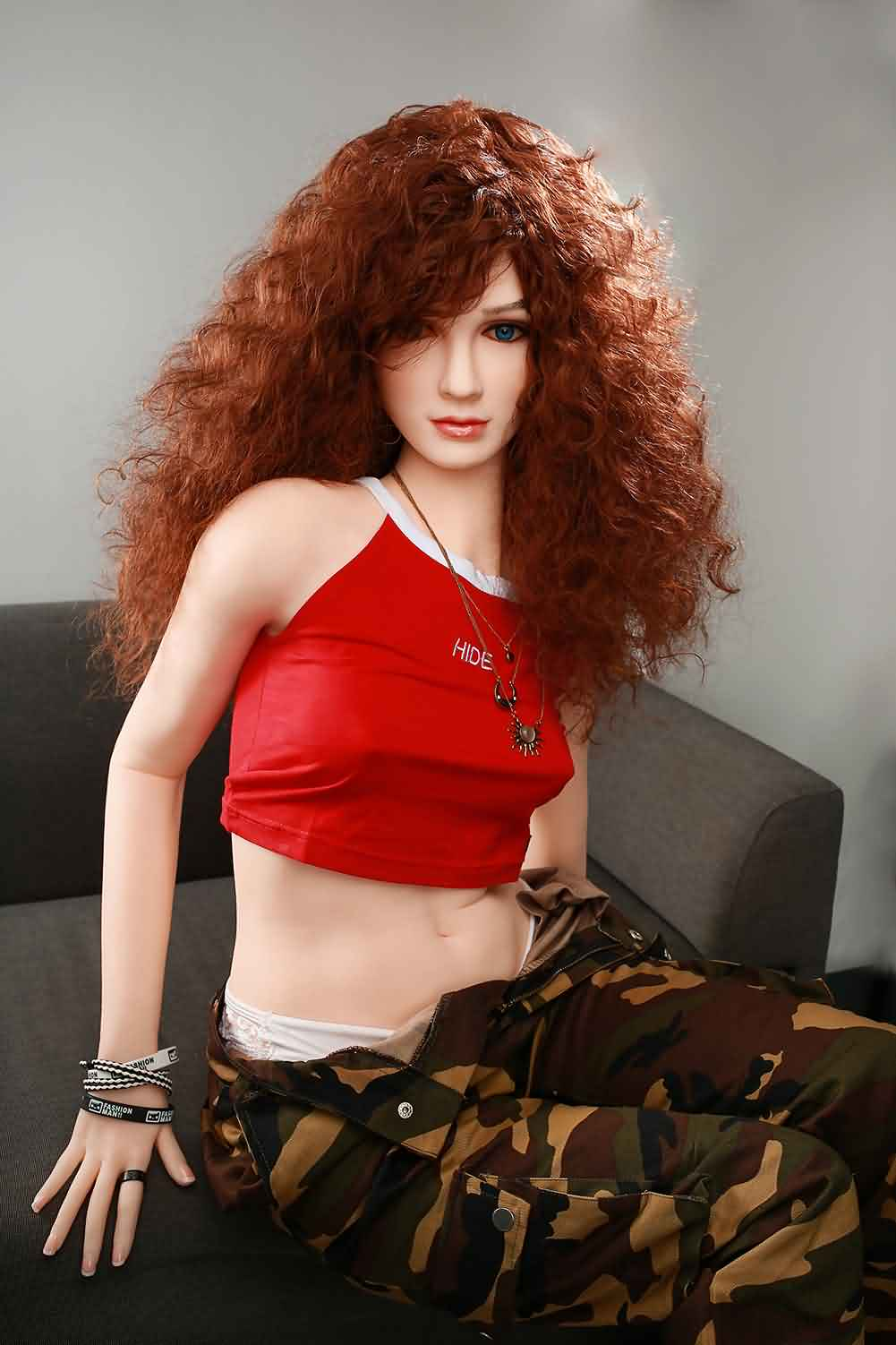 Debbie - 160cm Young Muscular Realistic Female Sex Doll