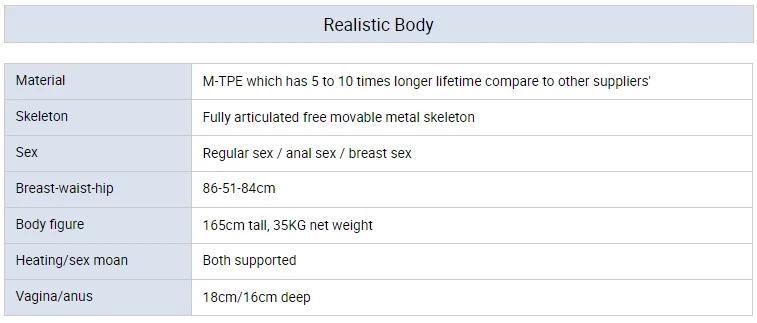 Melinda – 157cm Large Breast Robot Sex Doll-MiisooDoll